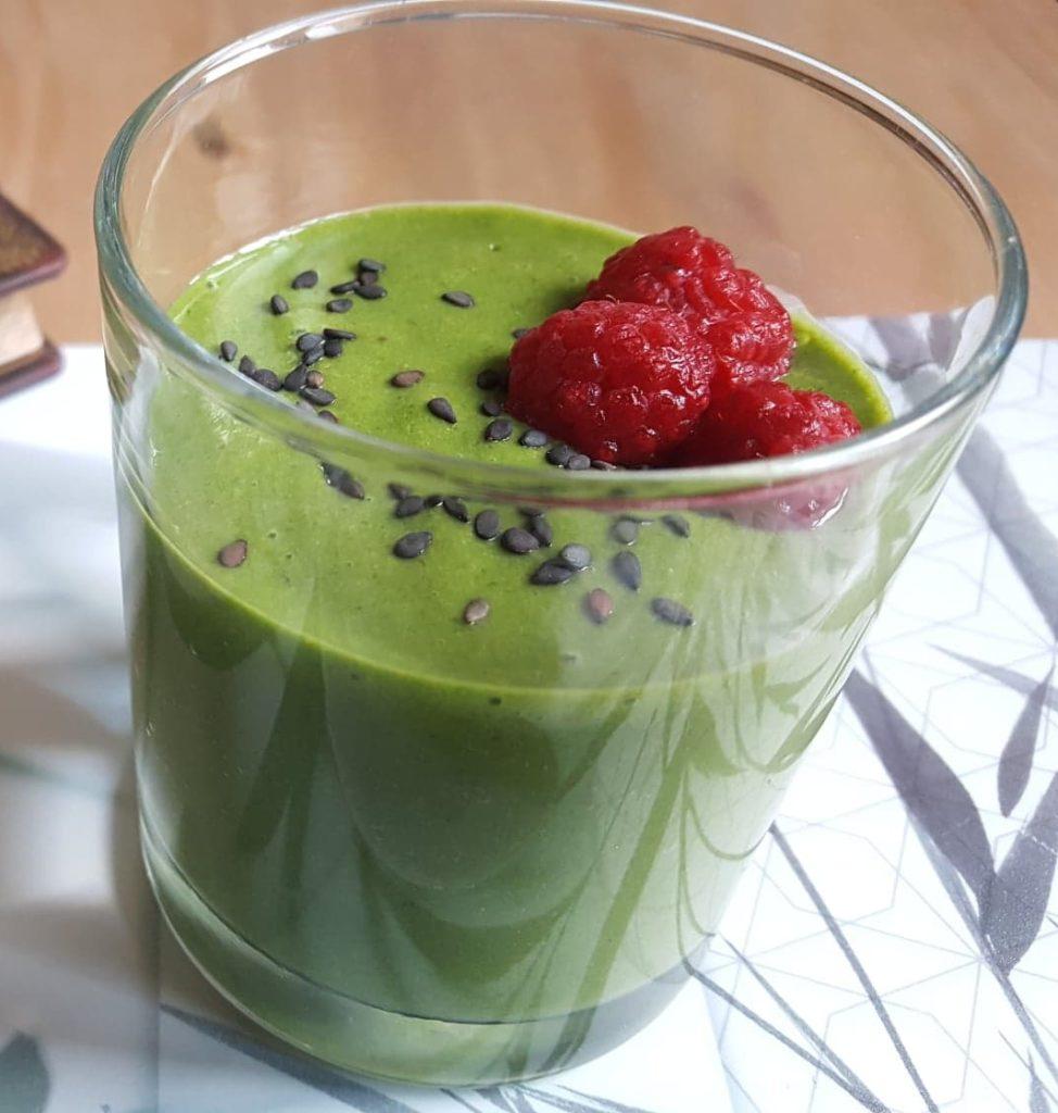 smoothie vert épinards