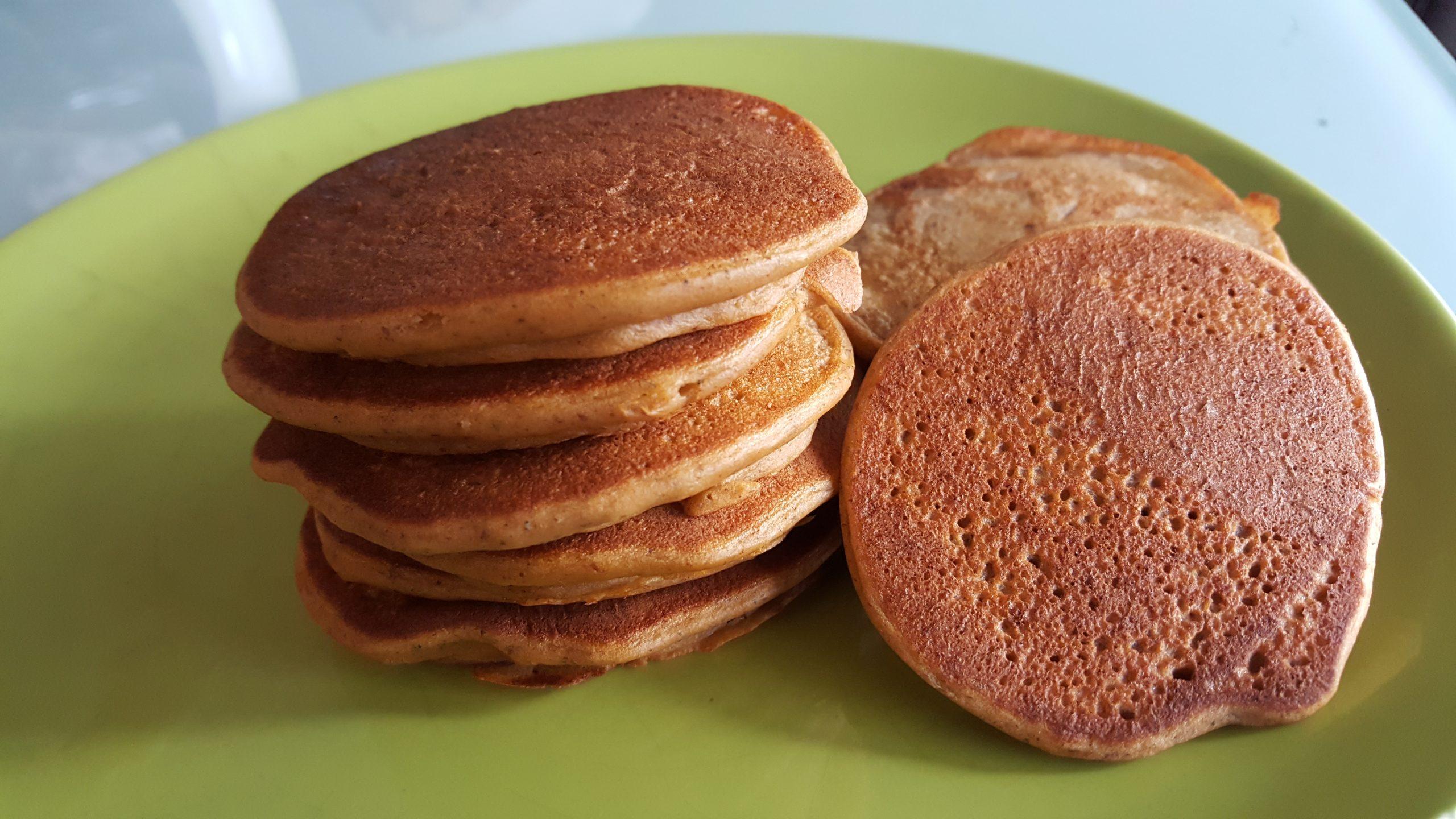Pancakes salés aux pois cassés