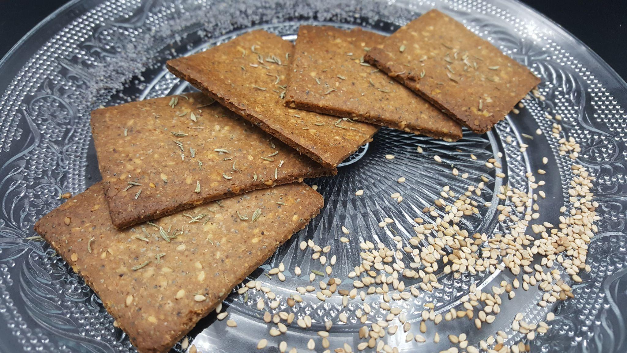Crackers au sarrasin
