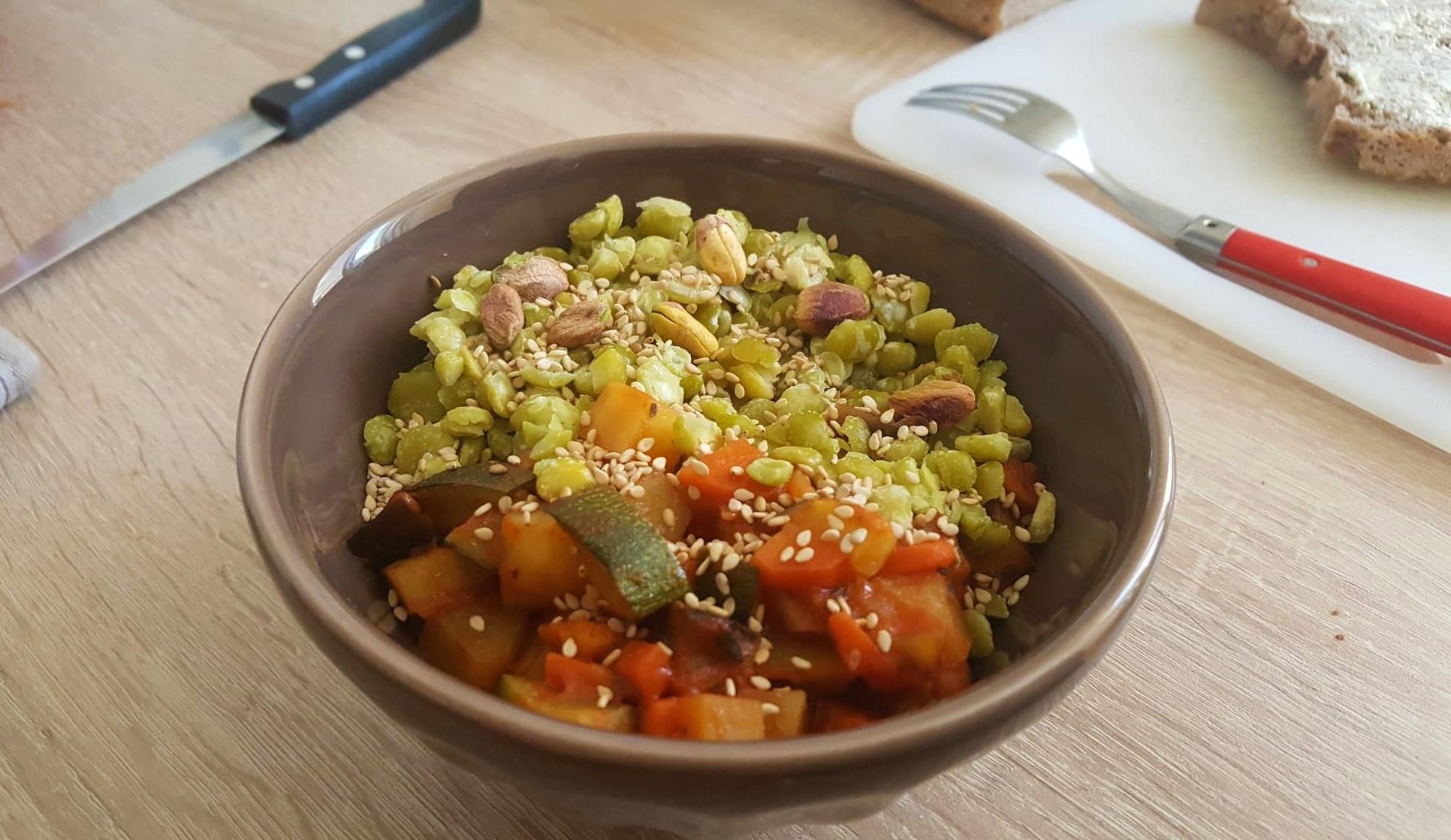 Composer une assiette vegan équilibrée